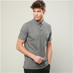 Magee 1866 Grey Rahan Tailored Fit Polo Shirt