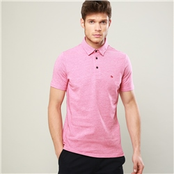 Magee 1866 Coral Rahan Tailored Fit Polo Shirt