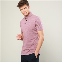 Magee 1866 Raspberry Rahan Tailored Fit Polo Shirt