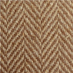 Magee 1866 Brown & Oat Herringbone Donegal Tweed