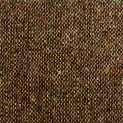 Magee 1866 Brown & Oat Salt & Pepper Flecked Donegal Tweed