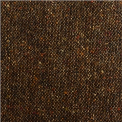 Magee 1866 Brown Salt & Pepper Flecked Donegal Tweed