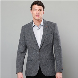 Magee 1866 Grey Salt & Pepper Donegal Tweed Tailored Fit Jacket