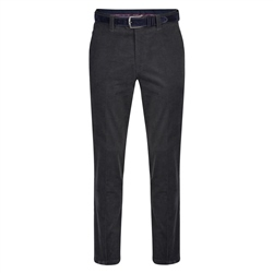Magee 1866 Grey Dungloe Needle Cord Classic Fit Trousers