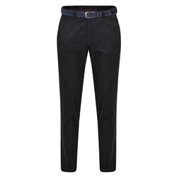 Magee 1866 Navy Dungloe Washed Look Classic Fit Trousers