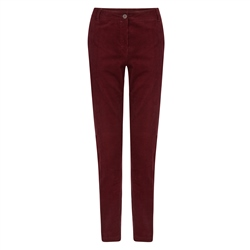 Magee 1866 Red Sandy Washed Look Tailored Fit Chino