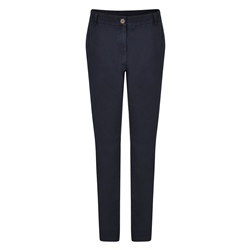 Magee 1866 Dark Navy Sandy Washed Trousers
