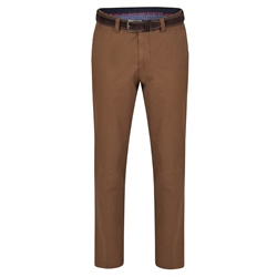 Magee 1866 Tobacco Dungloe Washed Look Classic Fit Trouser