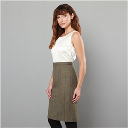 Magee 1866 Green Dana Country Check Tailored Fit Pencil Skirt
