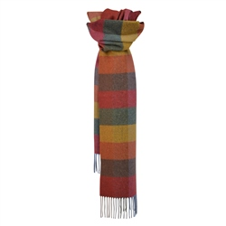 Magee 1866 Checked Patchwork Magee Scarf
