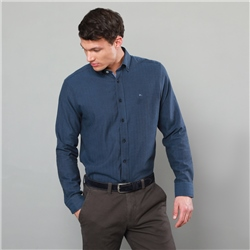 Magee 1866 Blue Tullagh Button Down Classic Fit Shirt