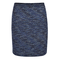 Magee 1866 Blue Carey Stretch Skirt