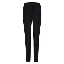 Magee 1866 Black Fahan Stretch Tailored Fit Trousers