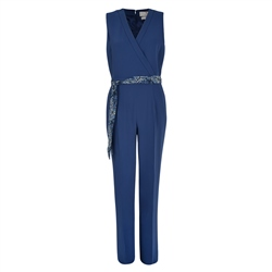Magee 1866 Blue Jade Tailored Fit Jumpsuit