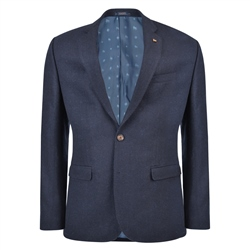 Magee 1866 Navy & Blue Donegal Tweed Tailored Fit Jacket