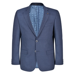 Magee 1866 Navy Micro-Design Spring Classic Fit Blazer