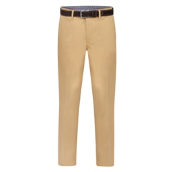 Magee 1866 Beige Dungloe Mill-Washed Classic Fit Trouser