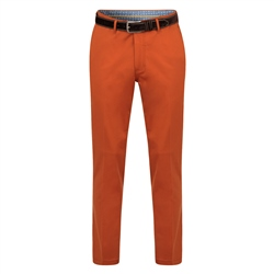Orange Dungloe Mill-Washed Classic Fit Trouser