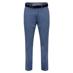 Magee 1866 Blue Dungloe Washed Look Classic Fit Trouser