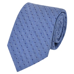Magee 1866 Blue Spotted Woven Tie