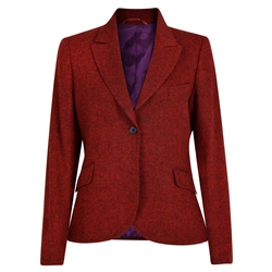 Magee 1866 Red Lily Salt & Pepper Donegal Tweed Blazer
