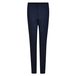 Magee 1866 Navy Fahan Stretch Tailored Fit Trousers