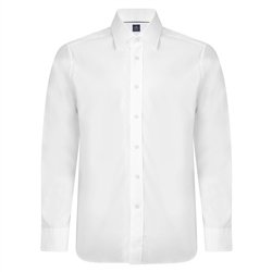 Magee 1866 White Altahan Fancy Classic Fit Shirt