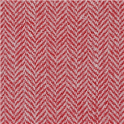 Magee 1866 Red Limited Edition Herringbone Flecked Donegal Tweed