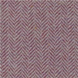 Magee 1866 Raspberry Limited Edition Herringbone Flecked Donegal Tweed