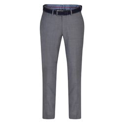 Magee 1866 Dark Grey Balloor Classic Fit Trousers