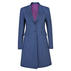 Magee 1866 Navy Grace Salt & Pepper Donegal Tweed Jacket