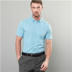 Magee 1866 Blue Marfagh Pique Classic Fit Polo Shirt