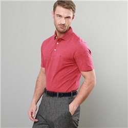 Magee 1866 Red Marfagh Pique Classic Fit Polo Shirt