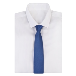 Navy Spotted Design Tie