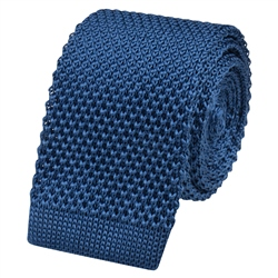 Magee 1866 Teal Knitted Silk Tie