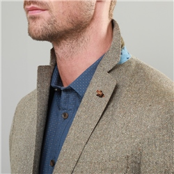 Moy Donegal Silk Blend Tailored Fit Blazer