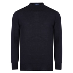 Magee 1866 Black Turtle Neck Sweater