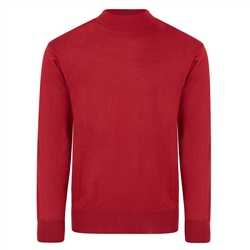 Magee 1866 Burgundy Turtle Neck Sweater