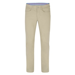 Magee 1866 Safari Green Finver Tailored Fit Trousers