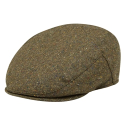 Magee 1866 Green Salt & Pepper Donegal Tweed Flat Cap
