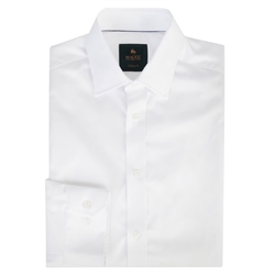Magee 1866 White Doonan Classic Fit Formal Shirt