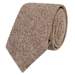 Magee 1866 Oat Salt & Pepper Tie