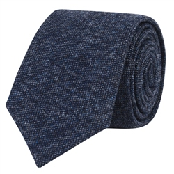 Magee 1866 Navy Salt & Pepper Tie