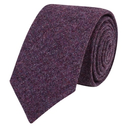 Magee 1866 Purple Salt & Pepper Tie