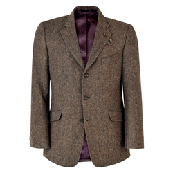 Magee 1866 Brown Herringbone Lathkill Shooting Jacket