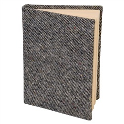 Grey Donegal Tweed Magee Note Book A6