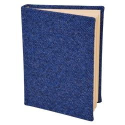Blue Donegal Tweed Magee Note Book A6