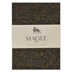 Magee 1866 Green Salt & Pepper Magee Note Book A6