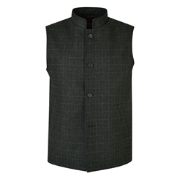 Magee 1866 Deep Green Cavan Tailored Fit Gilet