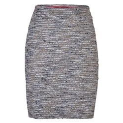 Magee 1866 Grey, Black & Gold Carey Skirt